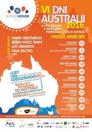 plakat Dni Australii